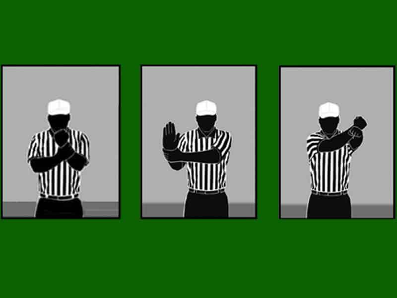 Public Address Announcer Football Signals