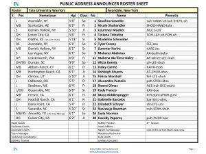 Public Address Announcer Tools