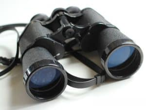 Public Address Announcer Binoculars