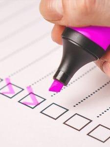Public Address Announcer Checklist