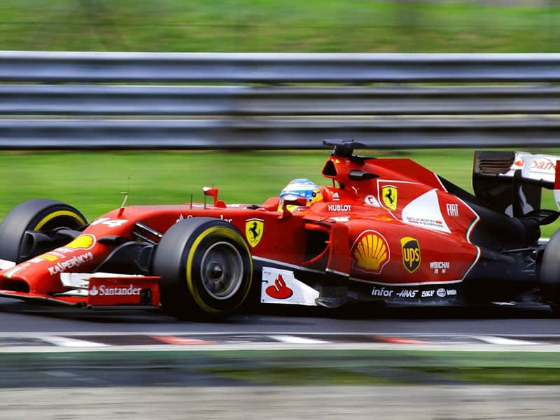 Public Address Announcer Formula One Ferrari