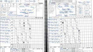 Public Address Announcer Baseball Softball Scorebook