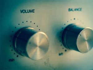 Public Address Announcer Volume Control