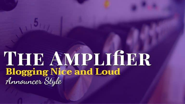 Public Address Announcer Amplifier Magazine Cover