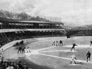 1894 Temple Cup Baltimore at New York at Polo Grounds