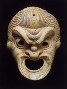 Ancient Greece Theater Mask