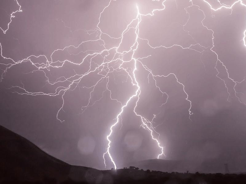 Lightning Storm Strikes