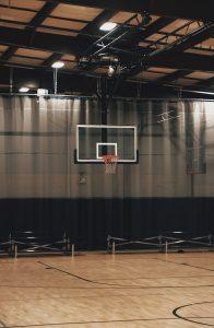 Basketball Gymnasium Hoop Backboard Stands
